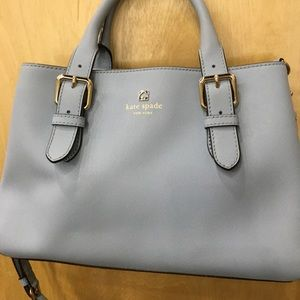 Kate Spade satchel with crossbody strap